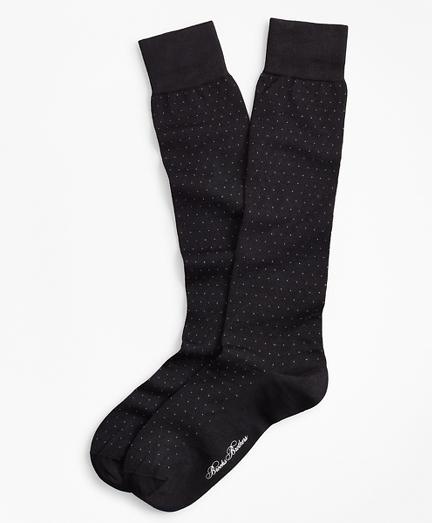 Polka Dot Over-the-Calf Socks
