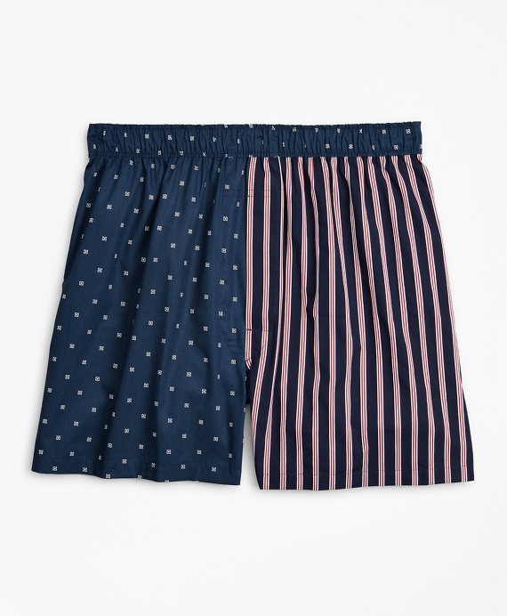 Traditional Fit Fun Boxers Navy
