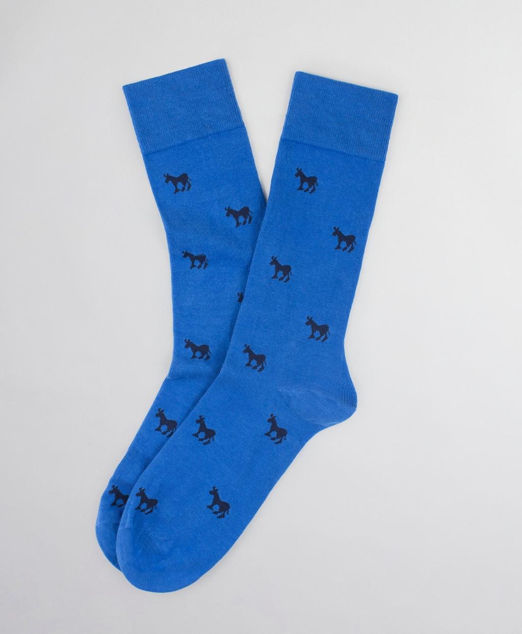 Donkey-Patterned Socks