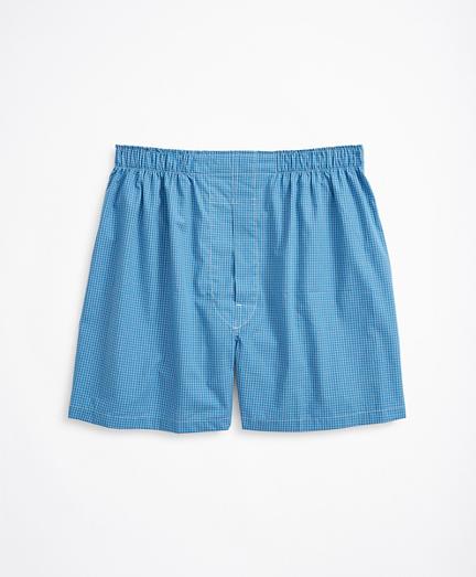 Mini-Check Boxers