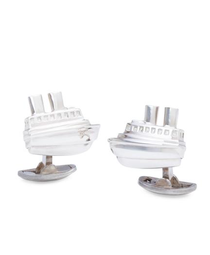 Tug Boat Cuff Links
