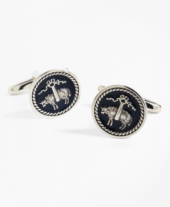 Golden Fleece® Cuff Links Silver