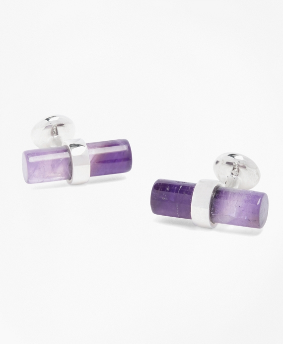 Amythst Cuff Links Amethyst