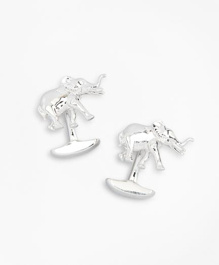 Elephant Cuff Links