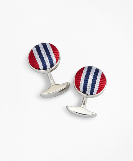 Rep Stripe Cuff Links
