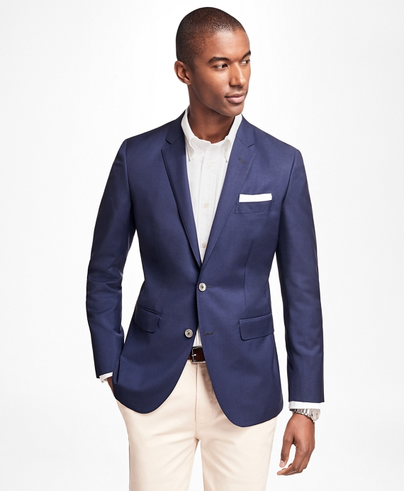 Milano Fit Two-Button Blazer Navy