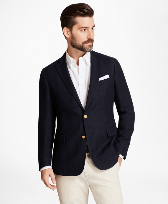 Regent Fit Textured Blazer