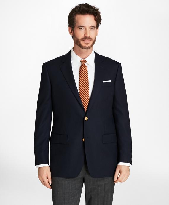 Madison Fit Doeskin Stretch Wool Blazer Navy