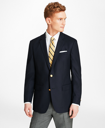 Milano Fit Doeskin Stretch Wool Blazer