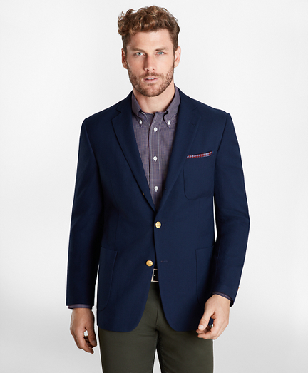 Regent Fit Three-Button Blazer