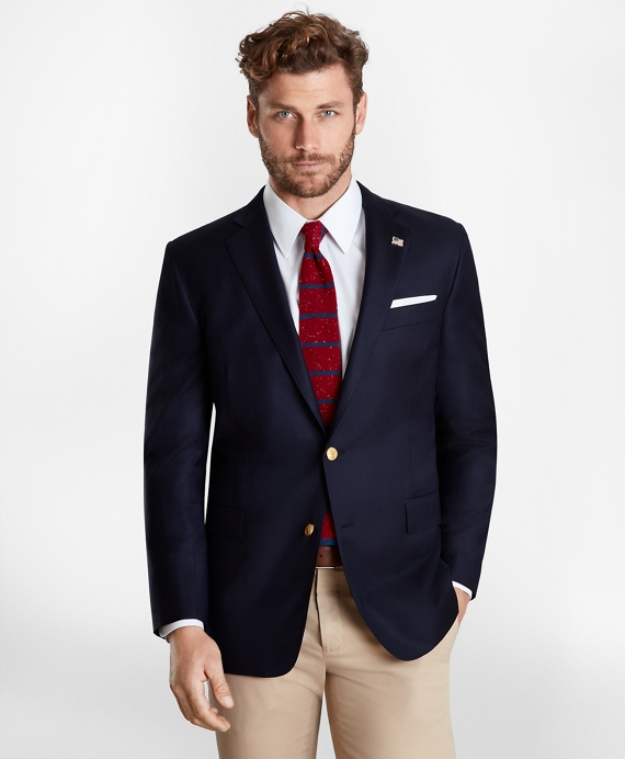 Golden Fleece® Regent Fit Two-Button Blazer Navy