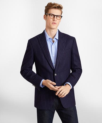 Regent Fit Stripe Lambswool Blazer