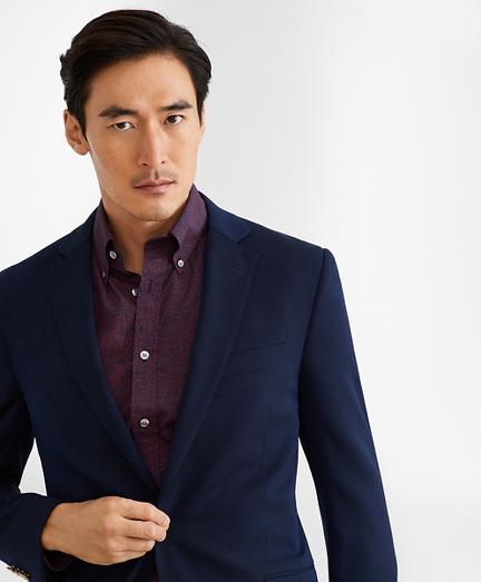 Regent Fit Two-Button Stretch Blazer