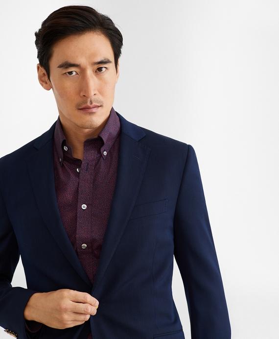 Regent Fit Two-Button Stretch Blazer Navy