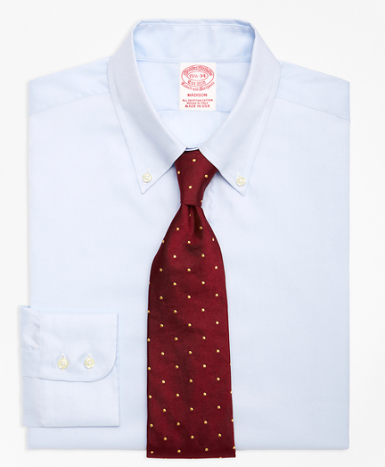 Madison Relaxed-Fit Dress Shirt, Button-Down Collar