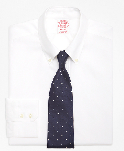Madison Classic-Fit Dress Shirt, Button-Down Collar