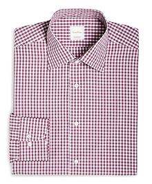 Gingham Woven Dress Shirt