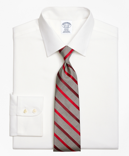 Regent Fitted Dress Shirt, Non-Iron Royal Oxford