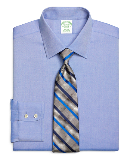 Milano Slim-Fit Dress Shirt, Non-Iron Royal Oxford