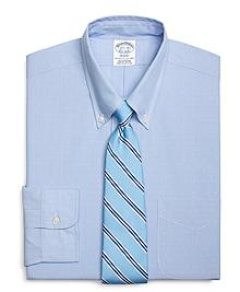 Regent Fit Dobby Hairline Stripe Dress Shirt