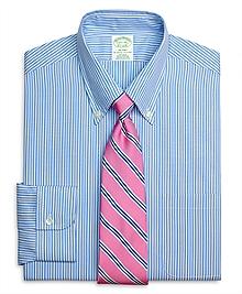 Milano Fit Dobby Bengal Stripe Dress Shirt