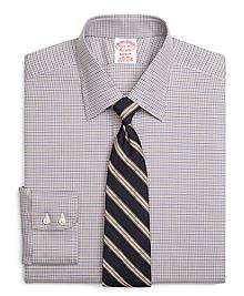 Non-Iron Madison Fit Micro Tattersall Dress Shirt