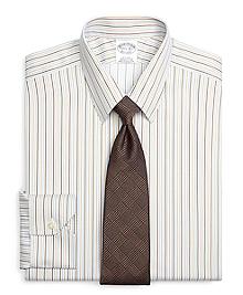 Non-Iron Regent Fit Tonal Stripe Dress Shirt