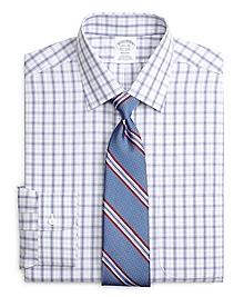 Non-Iron Regent Fit Twin Plaid Dress Shirt