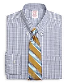 Non-Iron Madison Fit Micro Check Dress Shirt