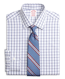 Non-Iron Traditional Fit Twin Plaid Dress Shirt