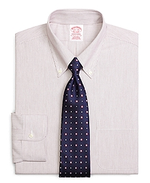 Non-Iron Traditional Fit Twin Stripe Dress Shirt