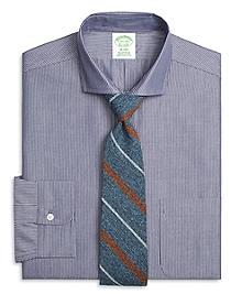 Milano Fit Chambray Pinstripe Dress Shirt