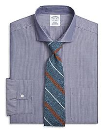 Regent Fit Chambray Pinstripe Dress Shirt