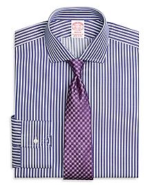 Madison Fit Split Stripe Dress Shirt