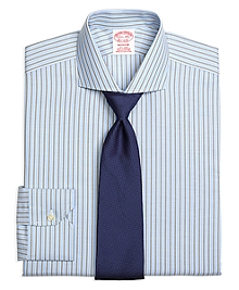 Non-Iron Madison Fit BB#1 Stripe Dress Shirt