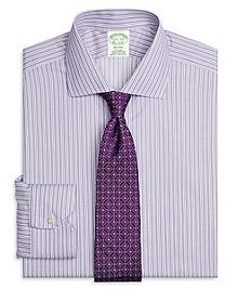 Non-Iron Milano Fit Stripe Dress Shirt