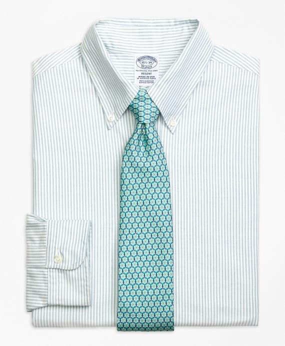 Original Polo® Button-Down Oxford Regent Regular-Fit Dress Shirt, Bengal Stripe Aqua