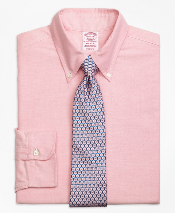 Original Polo® Button-Down Oxford Madison Classic-Fit Dress Shirt Pink