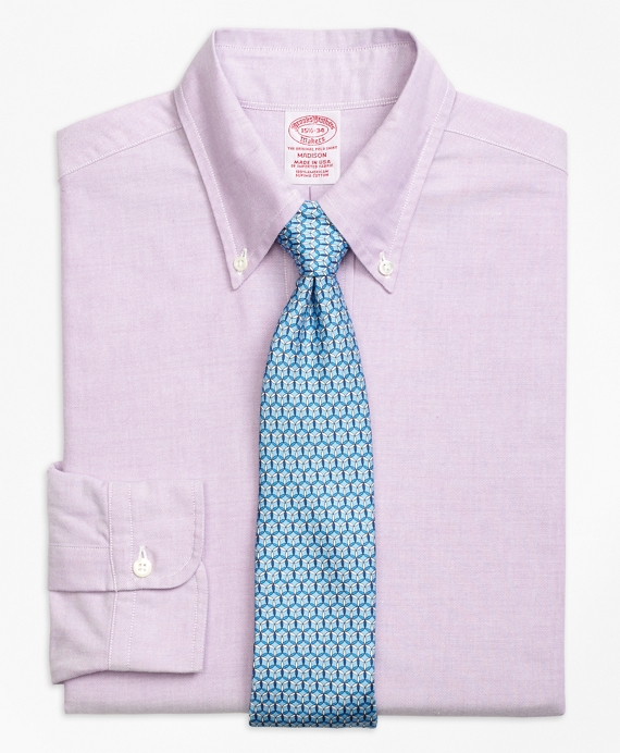 Original Polo® Button-Down Oxford Madison Classic-Fit Dress Shirt Purple