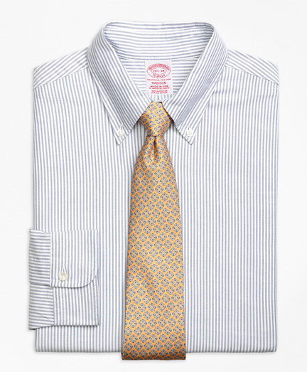 Original Polo® Button-Down Oxford Madison Classic-Fit Dress Shirt, Bengal Stripe
