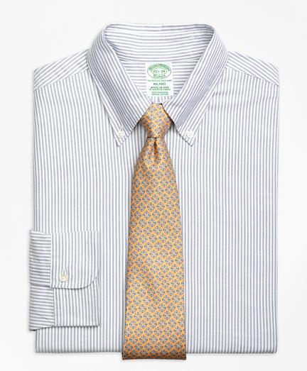 Original Polo® Button-Down Oxford Milano Slim-Fit Dress Shirt, Bengal Stripe