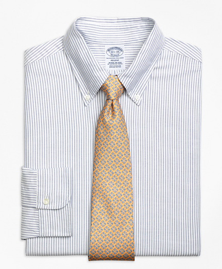 Original Polo® Button-Down Oxford Regent Fitted Dress Shirt, Bengal Stripe