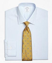 Non-Iron Regent Fit Micro Music Stripe Dress Shirt