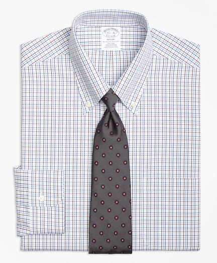 Non-Iron Regent Fit Triple Tattersall Dress Shirt