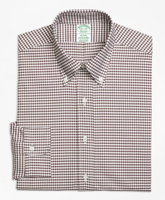 "Brooks Brothers Original Polo Button Down White Oxford Dress Shirt 16.5/"" Collar"
