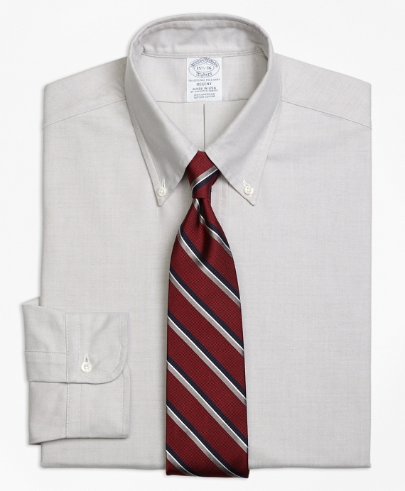 Original Polo® Button-Down Oxford Regent Fitted Dress Shirt Grey