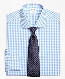 Non-Iron Regent Fit Gingham Dress Shirt