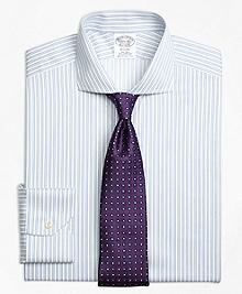 Non-Iron Regent Fit Sidewheeler Stripe Dress Shirt