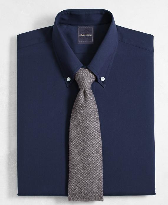 Golden Fleece® Milano Slim-Fit Dress Shirt, Button-Down Collar Navy Navy