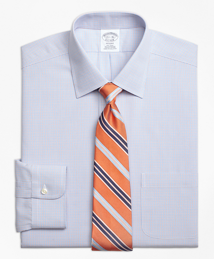 Regent Fitted Dress Shirt, Non-Iron Twin Check